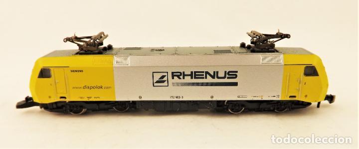 Trenes Escala: Marklin 88523 Z Mini Club Locomotora Eléctrica BR 152 Rhenus - Foto 2 - 200276026