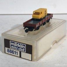 Trenes Escala: MARKLIN VAGÓN PLATAFORMA CON CAMIÓN 500 JAHRE POST, REFERENCIA 88611 ESCALA Z. Lote 220777618