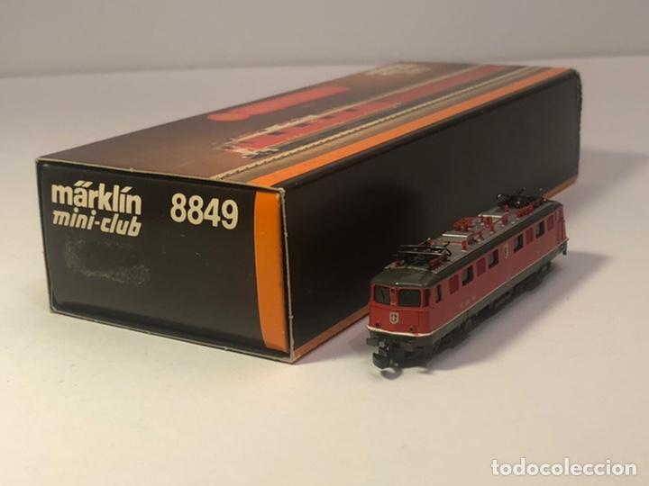 Trenes Escala: MARKLIN LOCOMOTORA ELÉCTRICA SBB, 2C1. ROJA REFERENCIA 8849 ESCALA Z - Foto 2 - 201268340