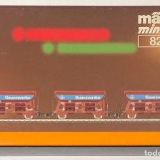 Trenes Escala: MARKLIN MINI CLUB SET VAGONES MERCANCÍAS QUARZWERKE REFERENCIA 8842, ESCALA Z. Lote 207075901