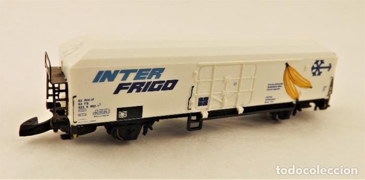 MARKLIN Z 82162 VAGON INTER FRIGO (Juguetes - Trenes a Escala Z)