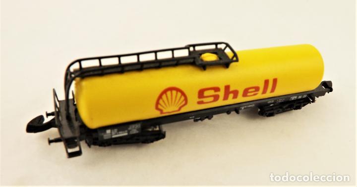 Trenes Escala: Marklin Z 8625 Vagón Cisterna Shell - Foto 2 - 234677835