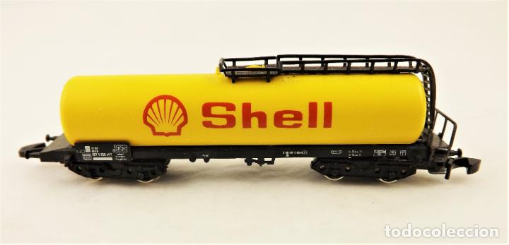 Trenes Escala: Marklin Z 8625 Vagón Cisterna Shell - Foto 3 - 234677835