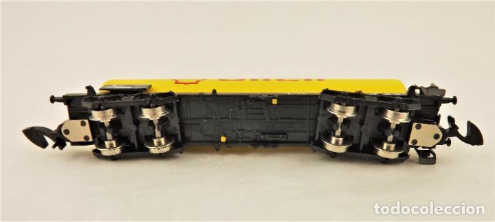 Trenes Escala: Marklin Z 8625 Vagón Cisterna Shell - Foto 4 - 234677835