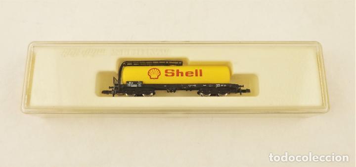 Trenes Escala: Marklin Z 8625 Vagón Cisterna Shell - Foto 5 - 234677835