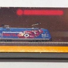 Trenes Escala: MARKLIN MINI CLUB LOCOMOTORA ELÉCTRICA 'DB BR 101 BO'BO' MAKROLON BAYER' 88684 ESCALA Z. NUEVO. Lote 211655153