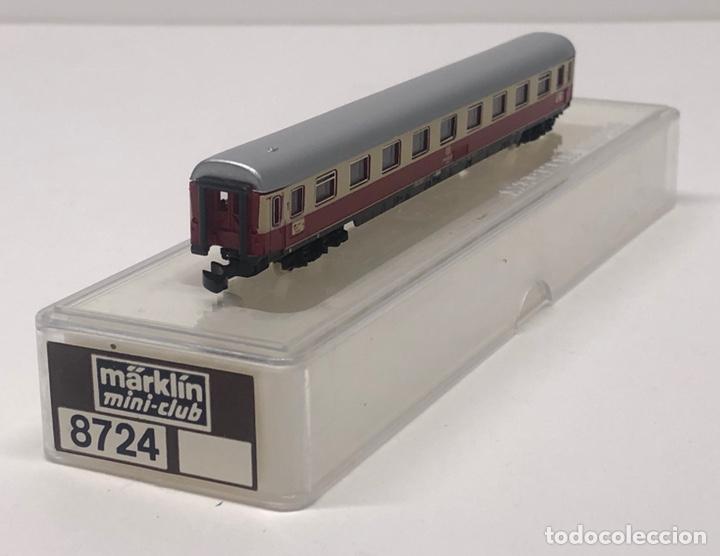 Trenes Escala: MARKLIN MINI CLUB VAGÓN PASAJEROS COCHE 1ª COMPARTIMENTOS TEE 8724 ESCALA Z. NUEVO - Foto 2 - 285314783