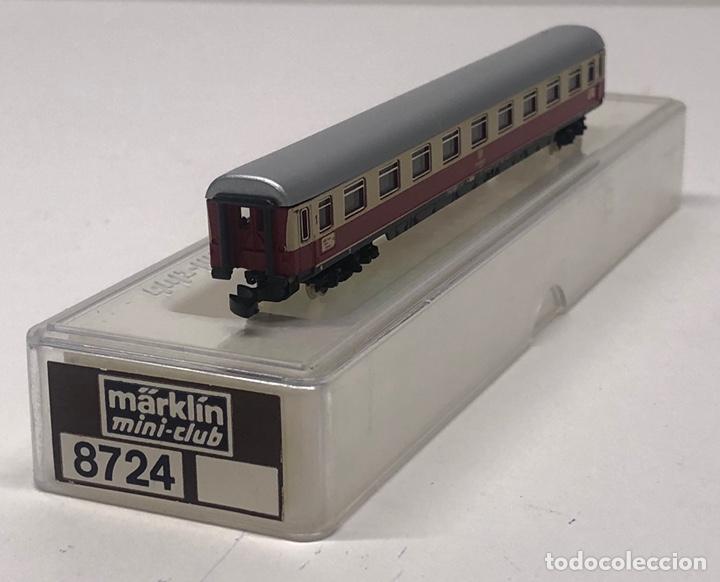 Trenes Escala: MARKLIN MINI CLUB VAGÓN PASAJEROS COCHE 1ª COMPARTIMENTOS TEE 8724 ESCALA Z. NUEVO - Foto 4 - 285314783