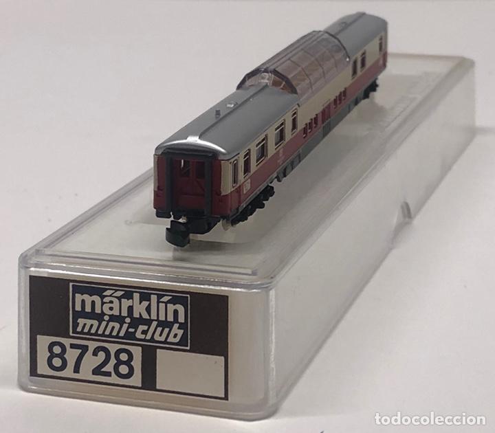 Trenes Escala: MARKLIN MINI CLUB VAGÓN PASAJEROS COCHE PANORÁMICO TEE 8728 ESCALA Z. NUEVO - Foto 2 - 211897443