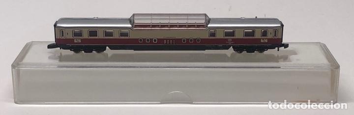 Trenes Escala: MARKLIN MINI CLUB VAGÓN PASAJEROS COCHE PANORÁMICO TEE 8728 ESCALA Z. NUEVO - Foto 3 - 211897443