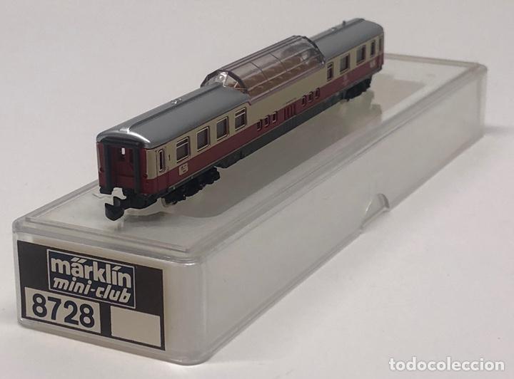Trenes Escala: MARKLIN MINI CLUB VAGÓN PASAJEROS COCHE PANORÁMICO TEE 8728 ESCALA Z. NUEVO - Foto 4 - 211897443