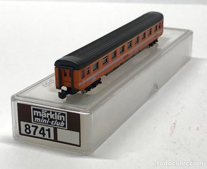 Trenes Escala: MARKLIN MINI CLUB VAGÓN PASAJEROS COCHE 1ª EUROFIMA SBB 8741 ESCLA Z. NUEVO - Foto 4 - 212345240