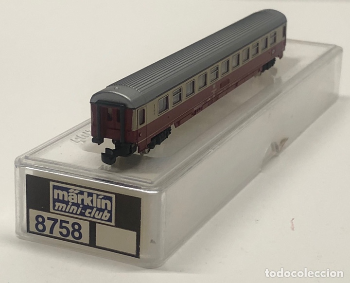 Trenes Escala: MARKLIN MINI CLUB VAGÓN PASAJEROS COCHE 1ª TEE DB 8758 ESCLA Z. NUEVO - Foto 4 - 243659520