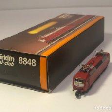 Trenes Escala: MARKLIN MINI CLUB LOCOMOTORA ELÉCTRICA DB BR 120, BO'BO' REFERENCIA 8848 ESCALA Z. NUEVO. Lote 212603740