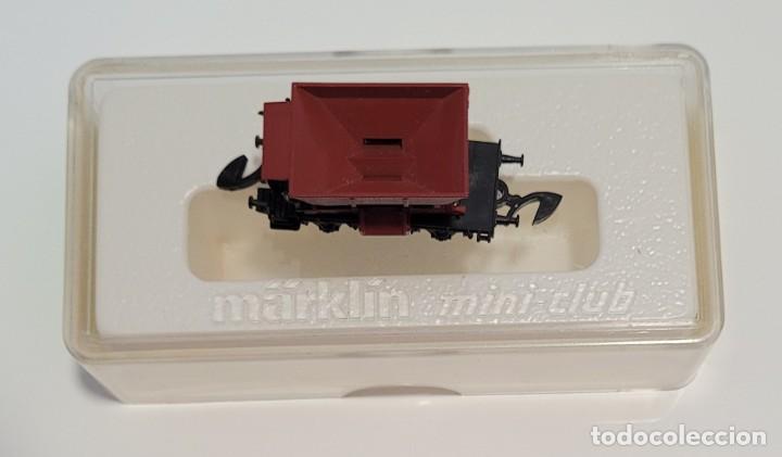 Trenes Escala: MARKLIN MINI CLUB VAGÓN MERCANCÍAS TOLVA 8624 ESCLA Z. NUEVO - Foto 5 - 224156166