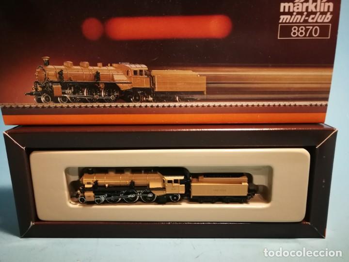 Trenes Escala: LOCOMOTORA MÄRKLIN MINI-CLUB 8870 - Foto 2 - 228612120
