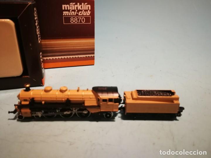 Trenes Escala: LOCOMOTORA MÄRKLIN MINI-CLUB 8870 - Foto 3 - 228612120