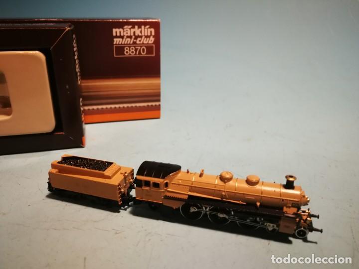 Trenes Escala: LOCOMOTORA MÄRKLIN MINI-CLUB 8870 - Foto 4 - 228612120