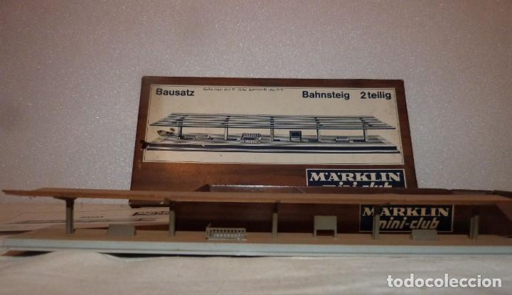 Trenes Escala: ANDEN CUBIERTO MARKLIN MINI-CLUB REF. 8961 - Foto 2 - 228822020