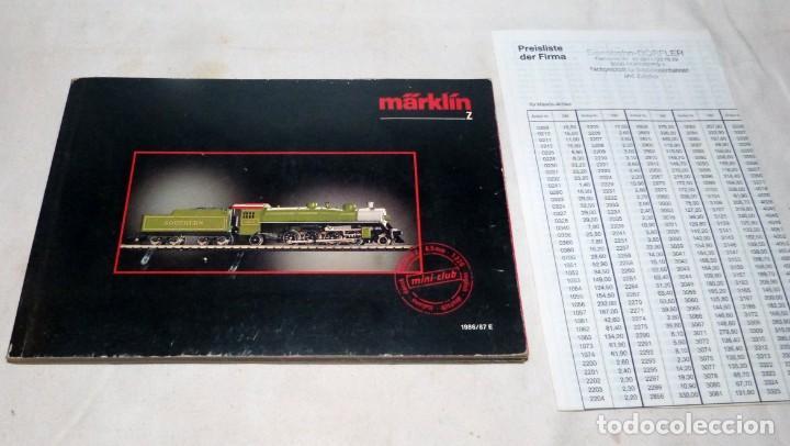 Trenes Escala: CATÁLOGO MARKLIN Z, 1986-1987 - Foto 8 - 228823990