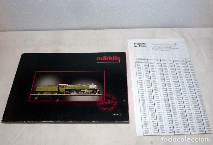 CATÁLOGO MARKLIN Z, 1986-1987 (Juguetes - Trenes a Escala Z)