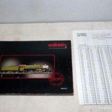 Trenes Escala: CATÁLOGO MARKLIN Z, 1986-1987. Lote 228823990