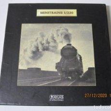 Trenes Escala: MINITRAINS 1/220, EL ORIENT EXPRESS. ESCALA Z. PLANETA DEAGOSTINI VER FOTOS, ES PARTE DE SU DESCRIP. Lote 232139040