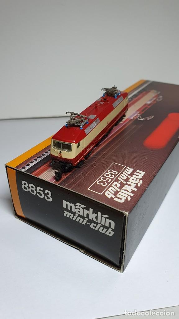 Trenes Escala: MARKLIN MINI CLUB LOCOMOTORA ELÉCTRICA DB BR 120 REF. 8853 ESCALA Z. NUEVO - Foto 3 - 235021005