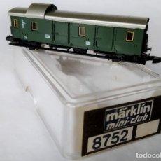 Trenes Escala: MÄRKLIN 8752 ESCALA Z VAGÓN EQUIPAJES DE PASAJEROS DE LA DB. Lote 244424220
