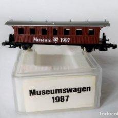 Trenes Escala: MÄRKLIN 8700 ESCALA Z MUSEUMWAGEN 1987. Lote 244425160