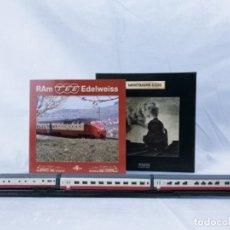 Trenes Escala: COLECCIÓN MINITRAINS 1/220-RAM TEE EDELWEISS. Lote 269626128