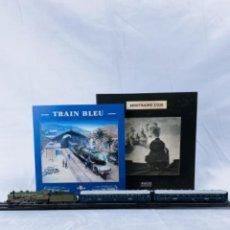 Comboios Escala: COLECCIÓN MINITRAINS 1/220- TRAIN BLEU. Lote 269628108