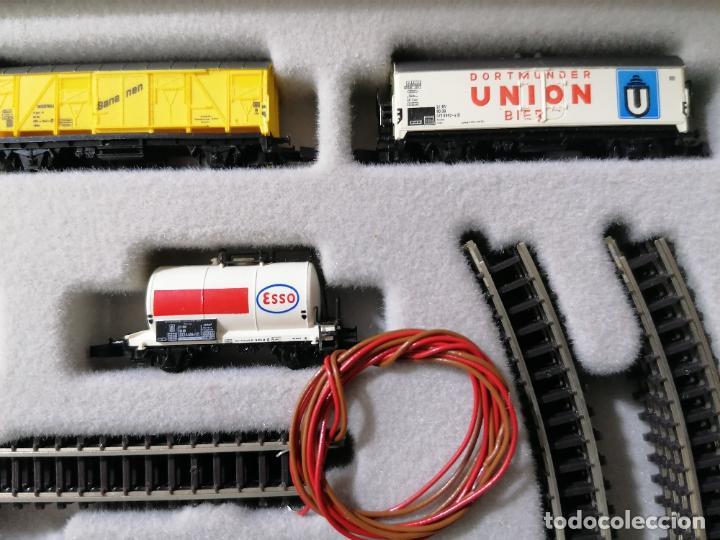 Trenes Escala: TREN ELECTRICO MARKLIN MINI-CLUB 8900, MADE IN WESTERN GERMANY COMPLETO - Foto 4 - 271537598