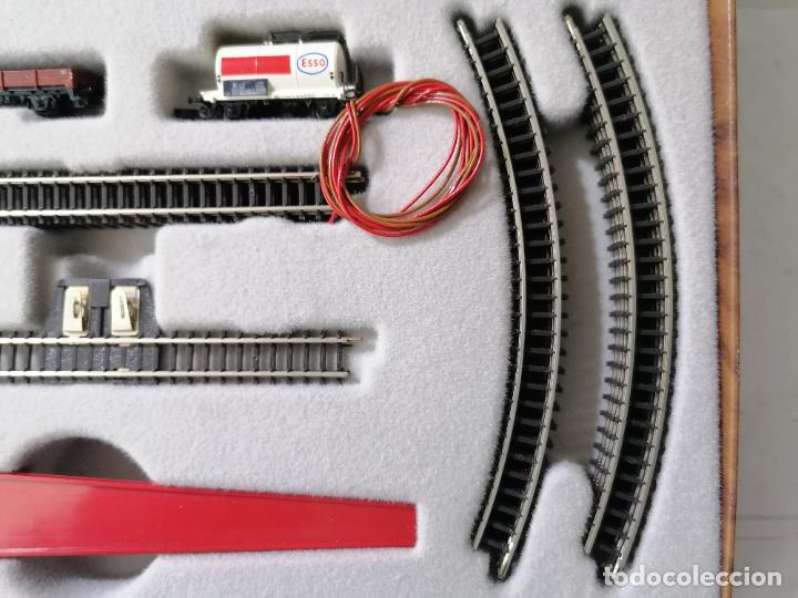 Trenes Escala: TREN ELECTRICO MARKLIN MINI-CLUB 8900, MADE IN WESTERN GERMANY COMPLETO - Foto 6 - 271537598