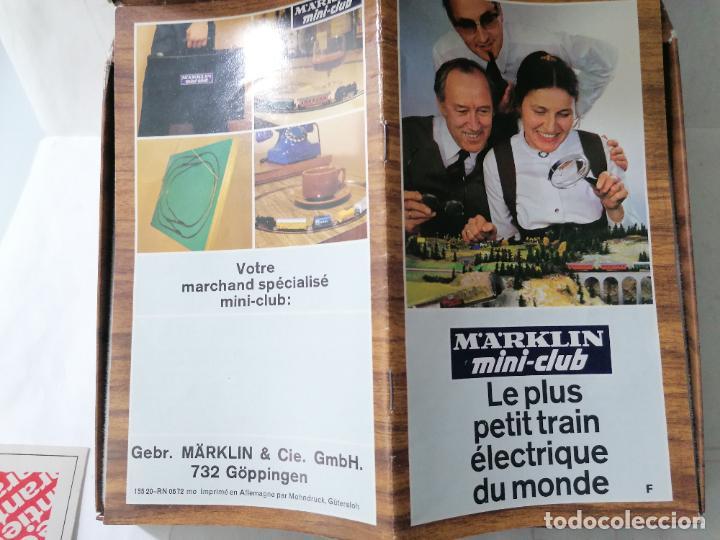 Trenes Escala: TREN ELECTRICO MARKLIN MINI-CLUB 8900, MADE IN WESTERN GERMANY COMPLETO - Foto 9 - 271537598