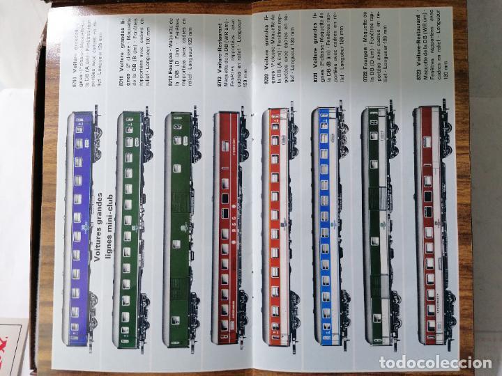 Trenes Escala: TREN ELECTRICO MARKLIN MINI-CLUB 8900, MADE IN WESTERN GERMANY COMPLETO - Foto 11 - 271537598