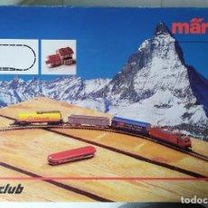 Trenes Escala: SET DE INICIACIÓN MÄRKLIN MINI CLUB REF. 8185- ESCALA Z. Lote 272199918