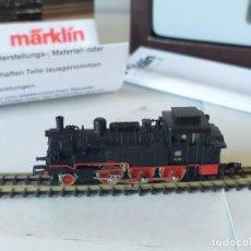 Trenes Escala: LOCOMOTORA A VAPOR BR 74-701 REF. 8895 DE MÄRKLIN - ESCALA Z. Lote 272679563