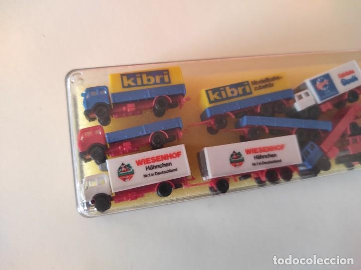 Trenes Escala: KIBRI escala Z. SET 6 CAMIONES Y 6 REMOLQUES ref.6995 - Foto 4 - 278941933
