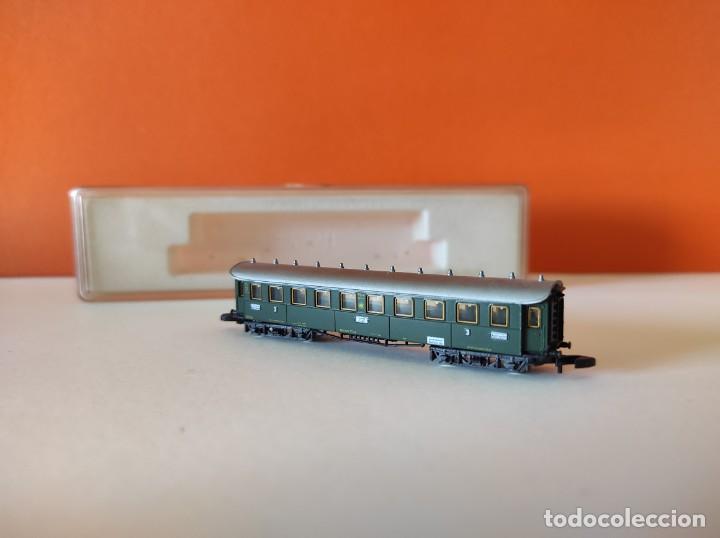 Trenes Escala: MARKLIN Z VAGON VIAJEROS 3ª.Clase DRG ref 8731 - Foto 7 - 278943083