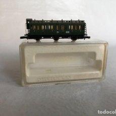 Trenes Escala: MÄRKLIN 8705 ESCALA Z VAGÓN DE PASAJEROS CON GARITA DE 3 EJES. Lote 283332808