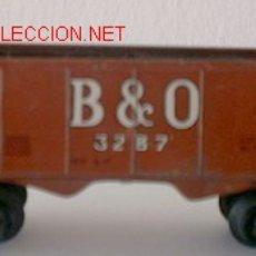 Trenes Escala: VAGON DE TREN EN CHAPA,MEDIDAS16CM LARGO X 43MM DE ANCHO X 6CM ALTO,MEDIDAS ANCHO DE -. Lote 21801270