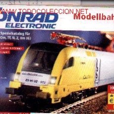 Trenes Escala: 17-343. CATÁLOGO MODELISMO FERROVIARIO ALEMAN. Lote 8361862
