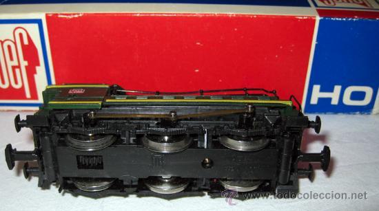 Trenes Escala: ANTIGUA LOCOMOTORA DE JOUEF HO - CORRIENTE CONTINUA ESTA EN PERO LE FALTA UNA BARRA - Foto 3 - 19203910