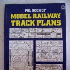 Trenes Escala: LIBRO INGLES SOBRE COMO PLANEAR VIAS DE TRENES DE JUGUETE- MODEL RAILWAY TRACK PLAN 1994. Lote 21051727