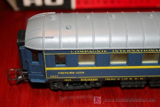 Trenes Escala: JOUEF - VAGÓN CAMA CONTINENTAL - REF. 862 - CON CAJA ORIGINAL - Foto 4 - 27409591