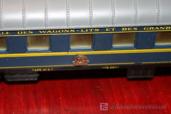 Trenes Escala: JOUEF - VAGÓN CAMA CONTINENTAL - REF. 862 - CON CAJA ORIGINAL - Foto 2 - 27409591