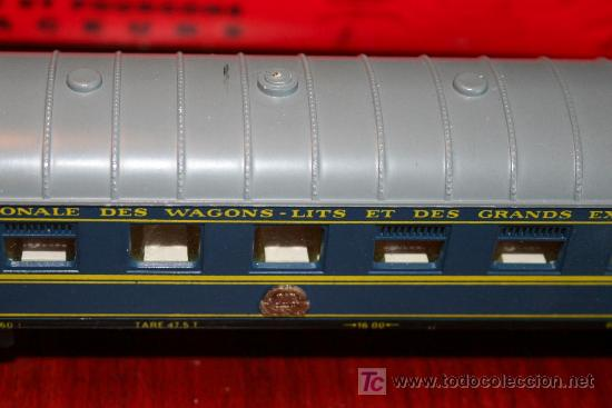 Trenes Escala: JOUEF - VAGÓN RESTAURANTE DE LOS FERROCARRILES FRANCESES - REF. 860 - CON CAJA ORIGINAL - Foto 4 - 27409588