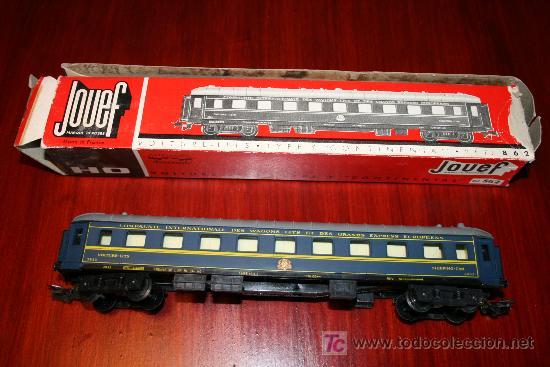 JOUEF - VAGÓN CAMA CONTINENTAL - REF. 862 - CON CAJA ORIGINAL (Juguetes - Trenes Escala H0 - Otros Trenes Escala H0)