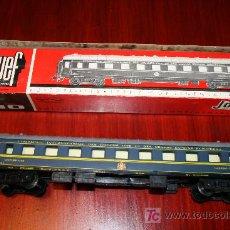 Trenes Escala: JOUEF - VAGÓN CAMA CONTINENTAL - REF. 862 - CON CAJA ORIGINAL. Lote 27409591